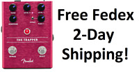 New Fender The Trapper Dual Fuzz Guitar Effects Pedal