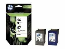 HP Original 56 57 Black Colr Ink Cartridges SA342AE Deskjet 5550 5552 5150 5850C