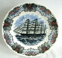 """Churchill Currier & Ives Nautical Tall Ships 10"""" Great Republic Plate -EXCELLENT"""