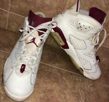 Nike Air Jordan 6 Retro Off White / New Maroon - Size 11 US Men's -384664-116
