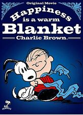 NEW DVD //  HAPPINESS IS A WARM BLANKET CHARLIE BROWN -  PEANUTS - ALL NEW MOVIE
