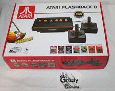 Atari Flashback 8 Classic Game Console Retro 105 Games w/ 2 Controllers