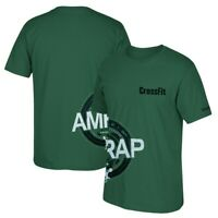 "Reebok CrossFit ""AMRAP"" Men's Green Tri-Blend Premium T-Shirt"