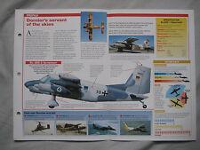 Aircraft of the World Card 47 , Group 4 - Dornier Do 28 Skyservant