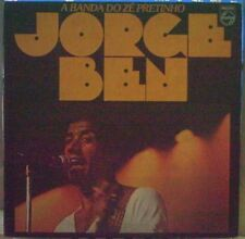 BEN JORGE A BANDA DO ZE PRETINHO LP 1978 ITALY