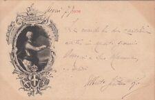 X093) BRESCIA, REGGIMENTO PIEMONTE REALE CAVALLERIA 1906, VITTORIO AMEDEO. VG.