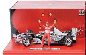 Mattel Michael Schumacher Ferrari Formula 1 diecast model racing car 1:18th F1