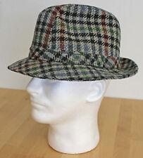 Vintage Tweed Fedora LL Bean Hat Made in U.S.A.m Paul Bear Bryant