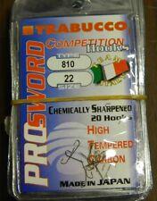 1 Confezione 20 AMI TRABUCCO PRO SWORD  serie 810 n 22 pesca BB58