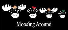 Moose Family Car Decal Sticker Custom Personalized