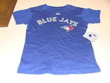 2013 Toronto Blue Jays Azul Marca Mlb T Camisa Niño Kids Azul Edad 4 Pequeñas