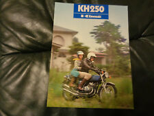RARE GENUINE ORIGINAL KAWASAKI KH250 MOTORCYCLE BROCHURE NOT RD GT