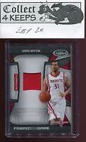 2009-10 Certified Fabric of the Game Patch #SB Shane Battier (Rockets) /250