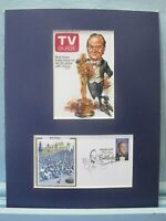 Bob Hope as a Legend of Hollywood and the First Day Cover of his own stamp