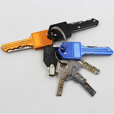 Mini Pocket Folding Knife Key Chain Stainless Steel Ring Buckle Knife Gift