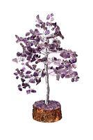 Large Amethyst Crystal Tree Crown Chakra Reiki Healing EMF Protection USA Seller