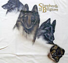 Belgian Tervuren T-shirt ~ Natural ~ Size SM ( 34 - 36 )