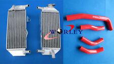 ALUMINUM RADIATOR + hose FOR HONDA CRF250 CRF250R CRF 250 R 2010 2011 2012 2013