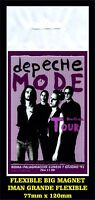 DEPECHE MODE DEVOTIONAL TOUR FLEXIBLE BIG MAGNET IMAN GRANDE 0204