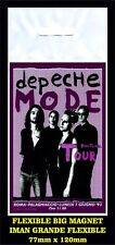 DEPECHE MODE DEVOTIONAL TOUR FLEXIBLE BIG MAGNET IMAN GRANDE 0204