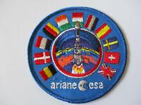 vintage JPL Employee ESA Ariane Satellite Launch Patch