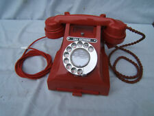 1960s Red Collectable Telephones