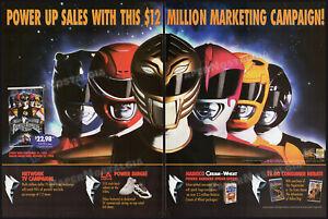 Mighty Morphin POWER RANGERS: The Movie__Original 1995 Trade Print AD / ADVERT