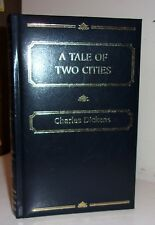 A TALE OF TWO CITIES, Charles Dickens,  Leather-like,  PURTY!  Illustrated Book