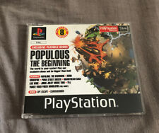 Official UK Playstation One Demo Game Number 46 Populous PAL PS1 Rare Retro