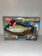 New Gemmy Big Mouth Billy Bass Sings The Holidays! Christmas 2000 Singing Fish