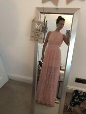 Miss Selfridge Pink Lace Dress