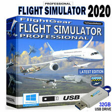 Flight Simulator 2019 Pro-on16GB USB Edition Flight SIM Windows 10 8 7 pc