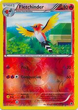 Fletchinder Uncommon Reverse Holo Pokemon Card XY Phantom Forces 9/119
