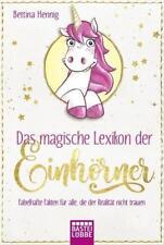 Das magische Lexikon der Einhörner von Bettina Hennig (2018, Taschenbuch)