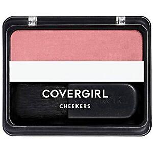 COVERGIRL Cheekers Blendable Powder Blush Deep Plum, .12 oz (packaging may