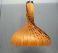 Große Furnier Pendelleuchte Jacobson Holz