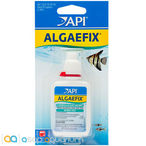 API AlgaeFix 1.25oz Safe and Effective Freshwater Aquarium Algae Control