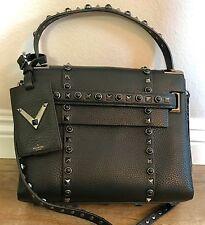 NWT Valentino My Rockstud Small Single Handbag in Black Noir Studs Limited $3775