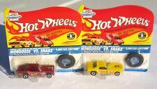 Hot Wheels Mongoose vs. Snake Care Free Gum 1995 Vintage Collection Set