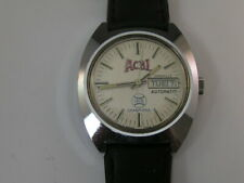 Vintage Caravelle Watch ACBL 1978 Champions Atlantic Collegiate Baseball Team