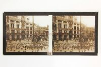 Venice Venezia Italia Placca Da Lente Positive Stereo 1936