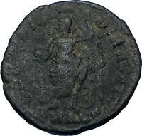 GRATIAN 378AD Aquileia Mint RARE Possibly Unpublished Roman Coin w ROMA i65803