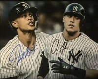 Aaron Judge / Giancarlo Stanton Autographed Signed 8x10 Photo ( Yankees )REPRINT