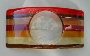 Jo Downs Handmade glass  Candlestand?