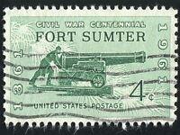 POSTAGE STAMP FORT SUMTER CIVIL WAR USA VINTAGE PHOTO ART PRINT POSTER BMP1078A