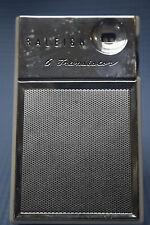 Raleigh 6-Transistor Radio - Made in Okinanwa - Model 619 - Leather Case