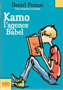Daniel Pennac - KAMO L'AGENCE BABEL - Gallimard Jeunesse