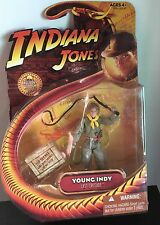 "YOUNG INDY Indiana Jones 3.75"" Action Figure Hasbro Last Crusade!!"