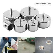 6Pcs 30-80mm Diamond Drill Bit Hole Saw Cutter Tool for Glass Marble Ceramic .