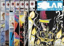 SOLAR MAN OF THE ATOM LOT OF 7 - #21 #22 #24 #25 #26 #27 #28 (NM-) VALIANT COMIC